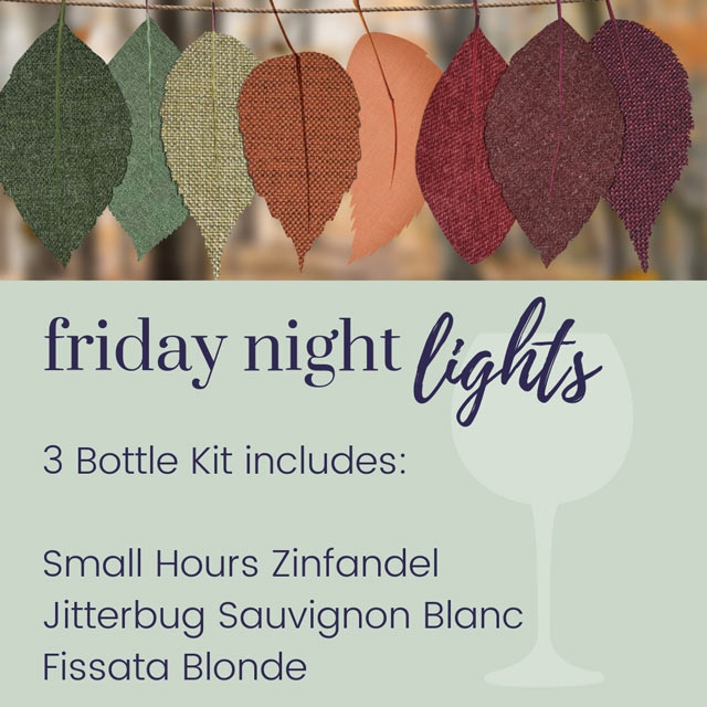 Friday Night Lights 3 Bottle Kit